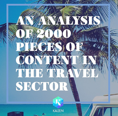 We Analysed 2,000 Pieces of Travel Content for Digital PR Insights