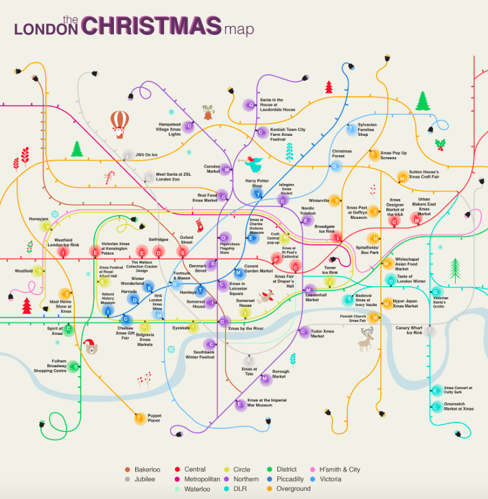 Christmas-tube-map