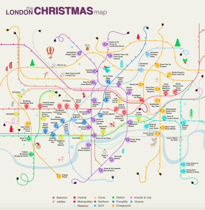 Christmas-tube-map